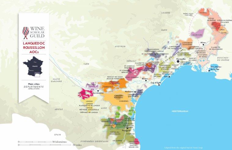Mlsounova cesta za vínem - Languedoc