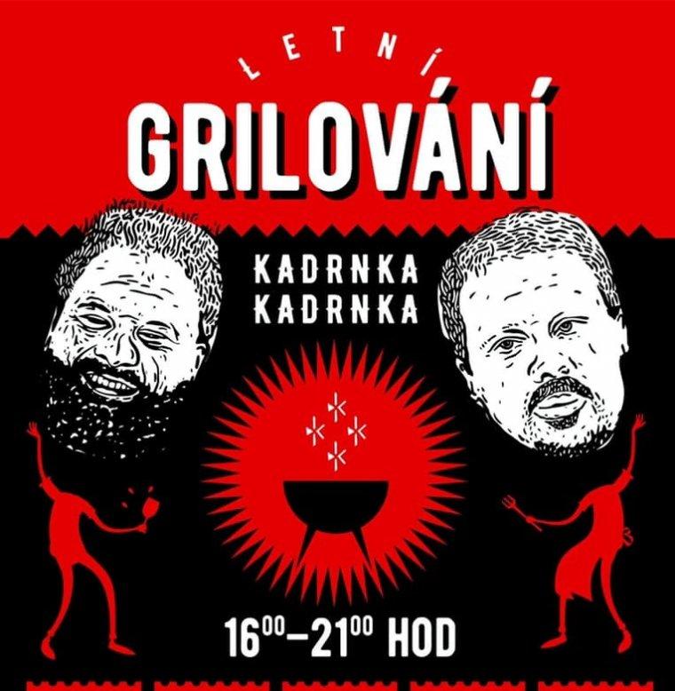 Grilování, popíjení, degustování a muzicírování s bratry Kadrnkovými